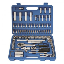 Socket Set 1/2in. and 1/4in. Drive 94 Piece-10