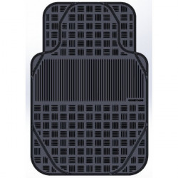 Van Mate Mat Rubber Black Single-10