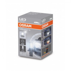 LED Standard Bulb (P13W) Cool White 6000k 12V 1.8W LEDriving-10