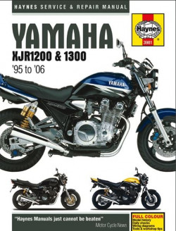 Motorcycle Manual Yamaha XJR1200 and 1300 (1995-2006)-11