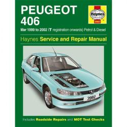 Peugeot 406 Petrol and Diesel (Mar 99 02) T Reg onwards Car Manual-10