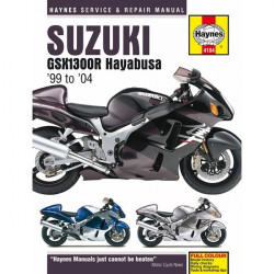 Motorcycle Manual Suzuki GSX1300R Hayabusa (1999-2004)-10