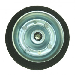 Jockey Wheel Spare Wheel Solid Tyre 160mm For MP433-10