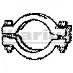 Pipe Connector, exhaust system KLARIUS CNP7-10