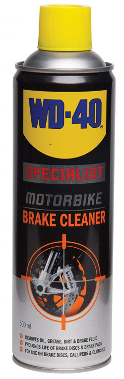 WD-40 Specialist Motorbike Brake Cleaner 500ml-11
