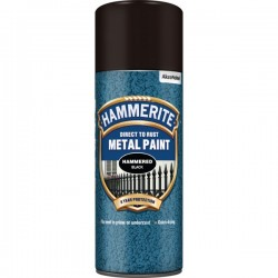 Direct To Rust Metal Paint Hammered Black 400ml-10