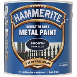 Direct To Rust Metal Paint Smooth Dark Blue 2.5 Litre-10