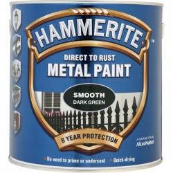 Direct To Rust Metal Paint Smooth Dark Green 2.5 Litre-10