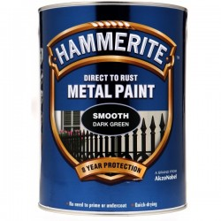 Direct To Rust Metal Paint Smooth Dark Green 5 Litre-10