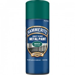 Direct To Rust Metal Paint Smooth Dark Green 400ml-10