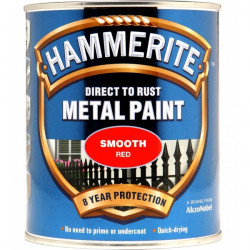 Direct To Rust Metal Paint Smooth Red 750ml-10