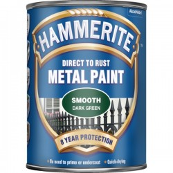 Direct To Rust Metal Paint Smooth Dark Green 750ml-10