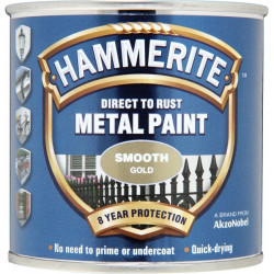 Direct To Rust Metal Paint Smooth Gold 750ml-10
