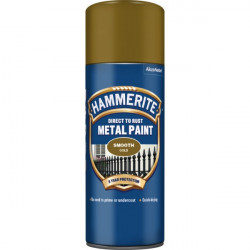 Direct To Rust Metal Paint Smooth Gold 400ml-10