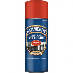 Direct To Rust Metal Paint Smooth Red 400ml-10