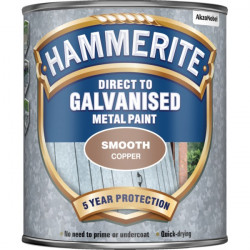 Direct To Galvanised Metal Paint Copper 750ml-10