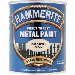 Direct To Rust Metal Paint Smooth Cream 750ml-10