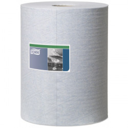 1 Ply Premium Heavy Duty Cleaning Cloth Blue 106m Combi Roll-10