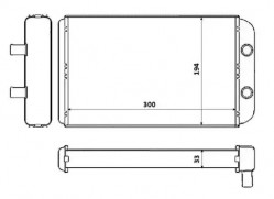 Heat Exchanger NRF 53562-10