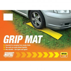 Grip Mat Yellow Pack of 2-10