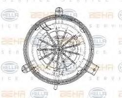 Interior Blower for Mercedes 190 HELLA 8EW009159-251-11