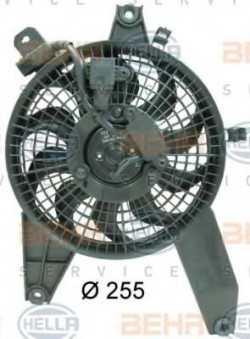 Fan, A/C condenser HELLA 8EW 351 034-611-11