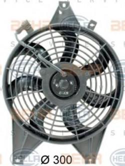 Fan, A/C condenser HELLA 8EW 351 034-631-11