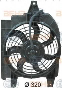 Fan, A/C condenser HELLA 8EW 351 034-691-11