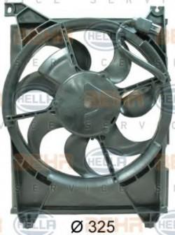 Fan, A/C condenser HELLA 8EW 351 034-701-11