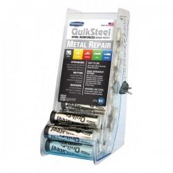 Steel Epoxy Putty 24 x 2oz Stick Acrylic CDU-10