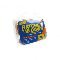 Ratchet Tie Down Strap and Hooks 4.5m x 38mm-10