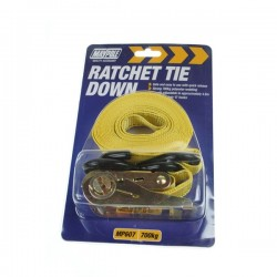 Ratchet Tie Down Strap and Hooks 4.5m x 25mm-10