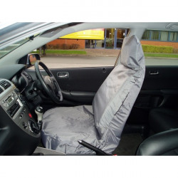 Car Seat Cover Waterproof Front Single Grey-10