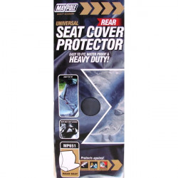 Car Seat Cover Nylon Rear Grey-10