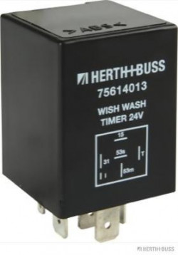Relay, wipe-/wash interval HERTH+BUSS ELPARTS 75614013-11
