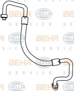 Air Conditioning /AirCon /AC Condenser Hose HELLA 9GS 351 338-121-11