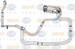 Air Conditioning /AirCon /AC Condenser Hose HELLA 9GS 351 338-351-11