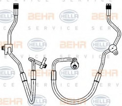 Air Conditioning /AirCon /AC Condenser Hose HELLA 9GS 351 338-591-11