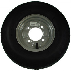 Trailer Wheel and Tyre 400mm x 8in.-10