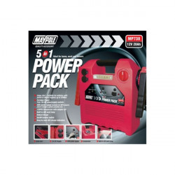 Power Pack 12V 20AH 120PSI Compressor with USB and Light-10