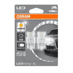 LED Standard Bulb (580A/382AW) Amber 12V W3x16q LEDriving-10