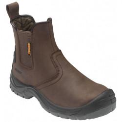Dealer Boots Brown UK 12-10