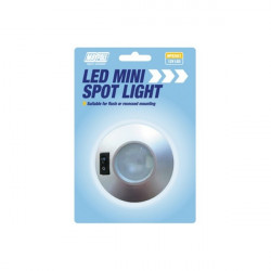 12V LED Mini Spot Light Silver-10