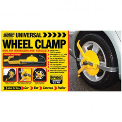 Adjustable Wheel Clamp 13in.-17in.-10