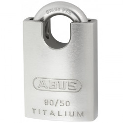 Padlock Titalium 50mm Closed Shackle-10