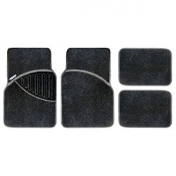 Standard Mat Set Carpet Black 4 Piece-10