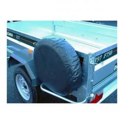 Trailer Spare Wheel Cover For 8in. Diameter Wheels-10