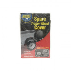 Trailer Spare Wheel Cover For 13in. Diameter Wheels-10