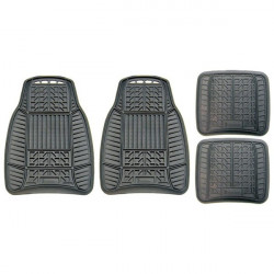Standard Mat Set A/W Rubber Black 4 Piece-10
