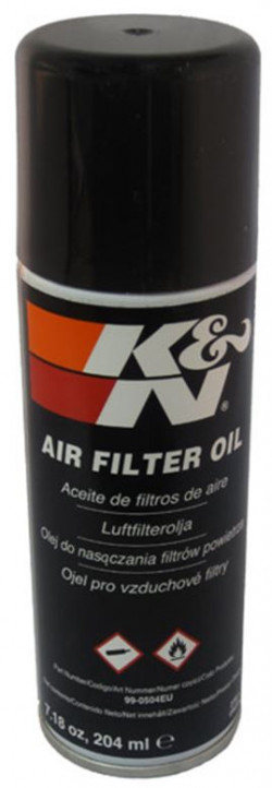 K + N FILTER OIL AEROSOL 204ML-11